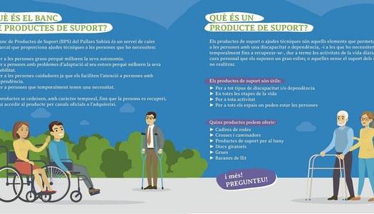 Banc de productes de suport Pallars Sobirà