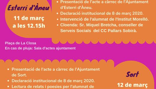 COMMEMORACIÓ DIA INTERNACIONAL DE LES DONES