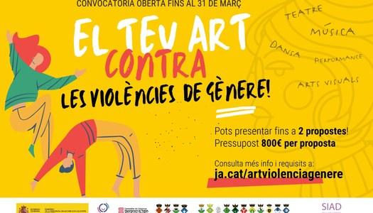 Convocatòria per artistes per sensibilitzar sobre les violències de gènere