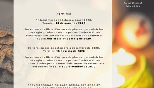 TERMALISME SOCIAL DE L'IMSERSO 2020